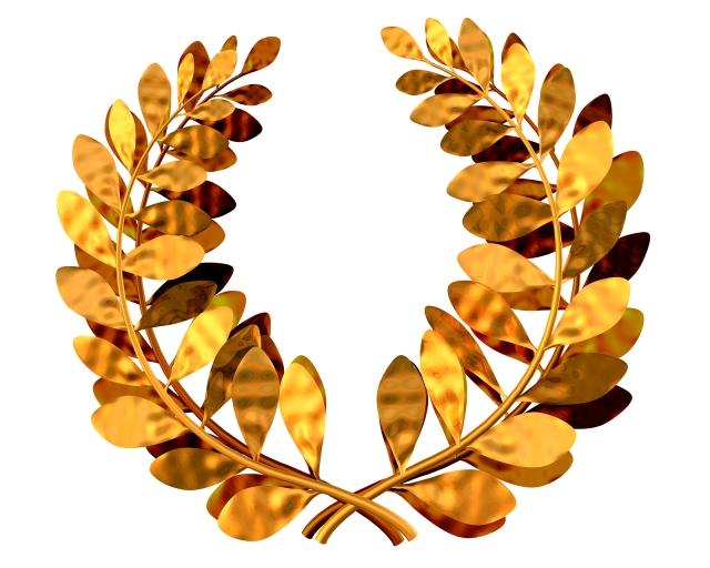 bigstockphoto_Golden_Laurel_Wreath_3945856